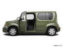 2009 Nissan cube Driver's side profile with drivers side door open