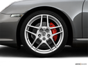 2009 Porsche 911 Front Drivers side wheel at profile