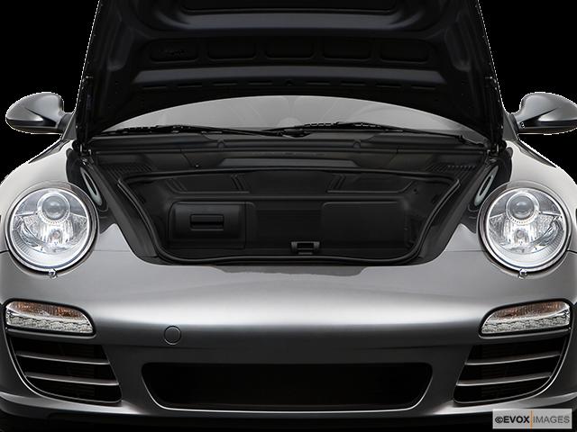 2009 Porsche 911 Trunk open