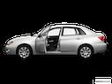 2009 Subaru Impreza Driver's side profile with drivers side door open