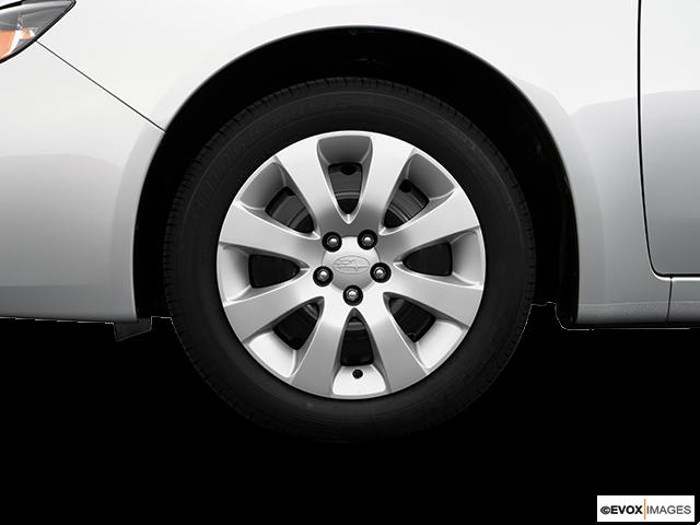 2009 Subaru Impreza Front Drivers side wheel at profile