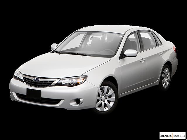 2009 Subaru Impreza Front angle view