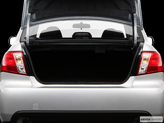 2009 Subaru Impreza Trunk open