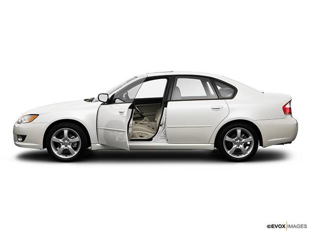 2009 Subaru Legacy Driver's side profile with drivers side door open