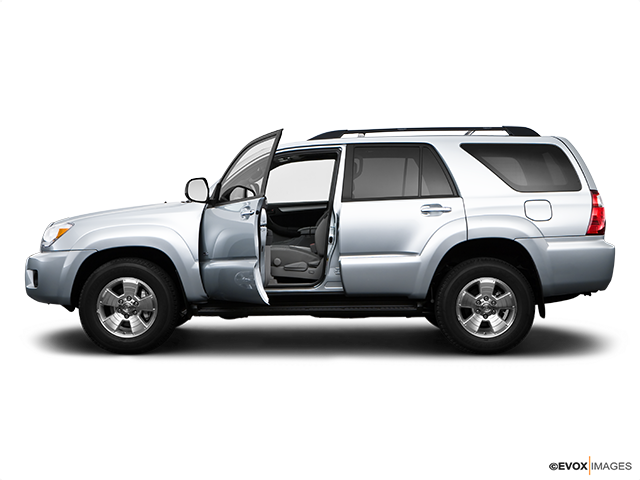 2009 Toyota 4Runner Driver's side profile with drivers side door open