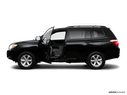 2009 Toyota Highlander Driver's side profile with drivers side door open