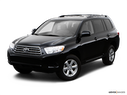 2009 Toyota Highlander Front angle view