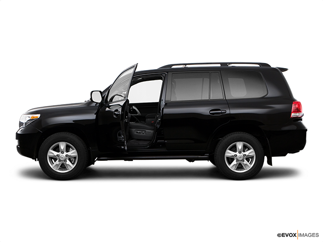 2009 Toyota Land Cruiser Driver's side profile with drivers side door open
