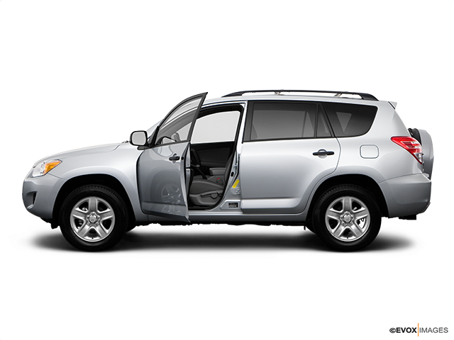 2009 Toyota RAV4 Driver's side profile with drivers side door open
