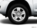 2009 Toyota RAV4 Front Drivers side wheel at profile