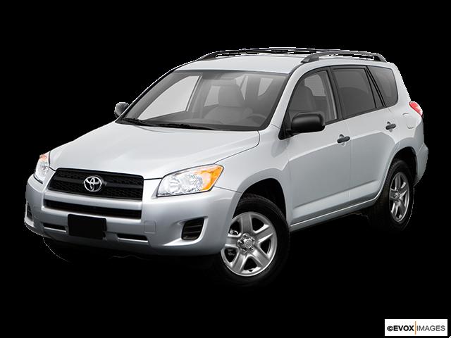 2009 Toyota RAV4 Front angle view