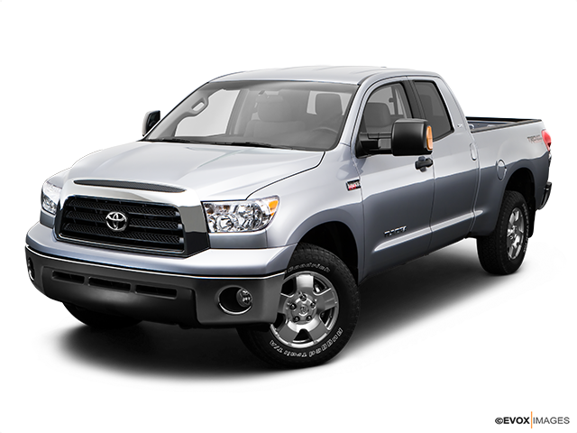 2009 Toyota Tundra Front angle view