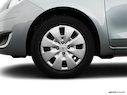 2009 Toyota Yaris Front Drivers side wheel at profile