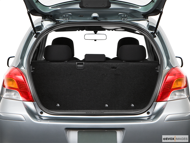 2009 Toyota Yaris Trunk open