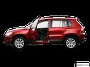 2009 Volkswagen Tiguan Driver's side profile with drivers side door open