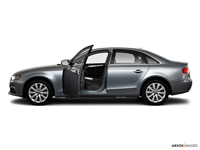 2010 Audi A4 Driver's side profile with drivers side door open