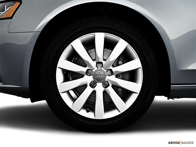 2010 Audi A4 Front Drivers side wheel at profile
