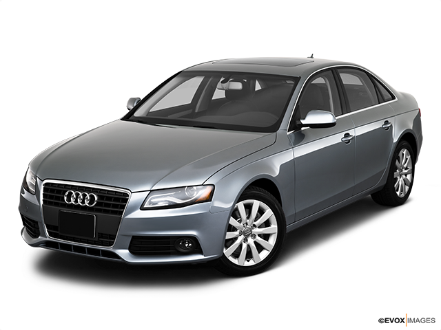 2010 Audi A4 Front angle view