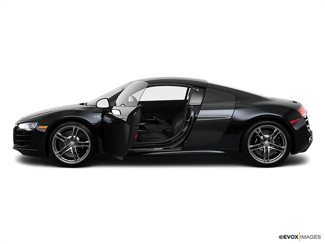 2010 Audi R8 Driver's side profile with drivers side door open