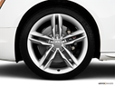2010 Audi S5 Front Drivers side wheel at profile