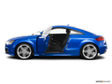 2010 Audi TTS Driver's side profile with drivers side door open