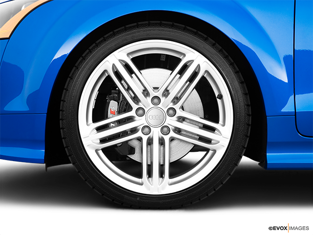 2010 Audi TTS Front Drivers side wheel at profile