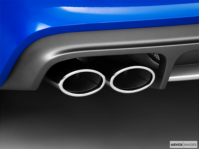 2010 Audi TTS Chrome tip exhaust pipe