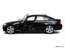 2010 BMW 3 Series Driver's side profile with drivers side door open