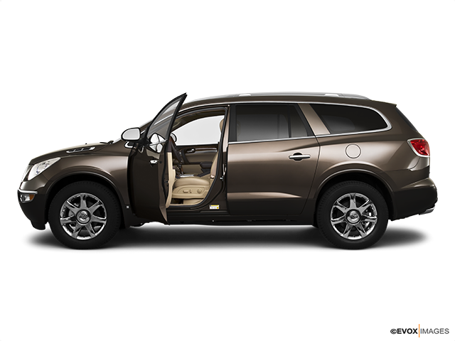 2010 Buick Enclave Driver's side profile with drivers side door open