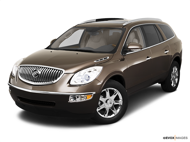 2010 Buick Enclave Front angle view