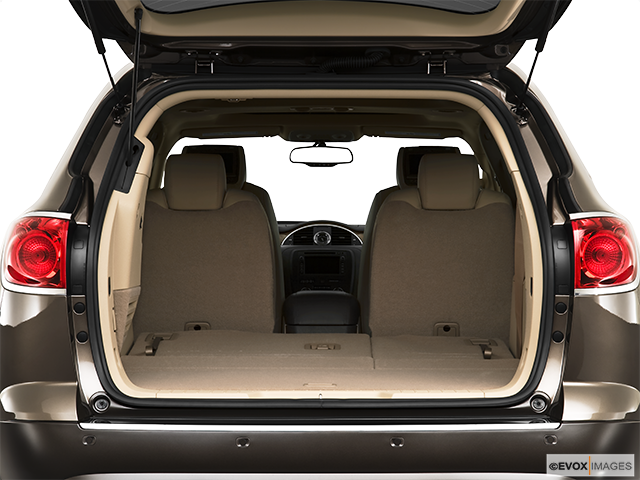 2010 Buick Enclave Trunk open