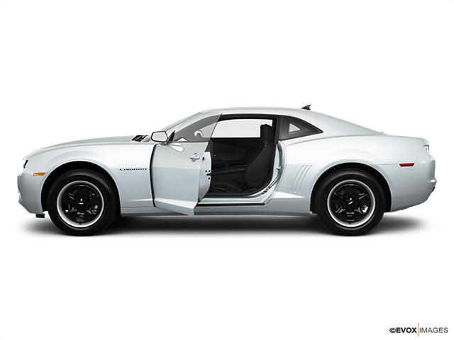 2010 Chevrolet Camaro Driver's side profile with drivers side door open