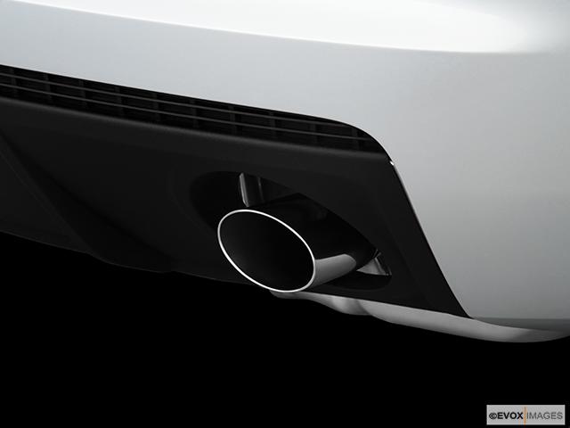2010 Chevrolet Camaro Chrome tip exhaust pipe