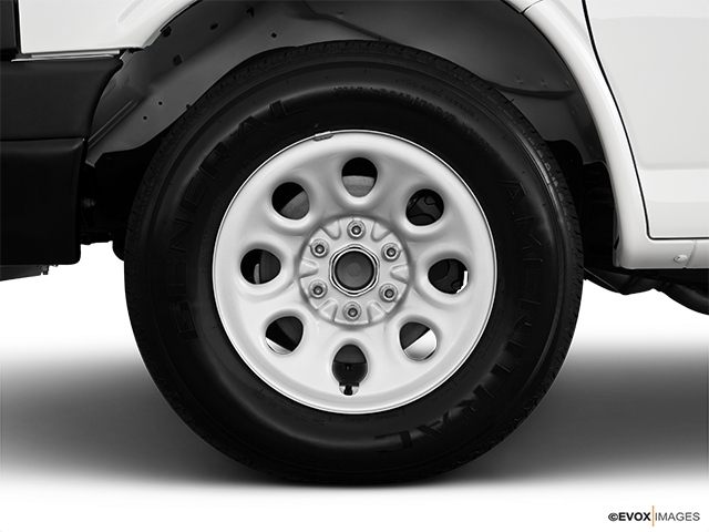 2010 Chevrolet Express Cargo Front Drivers side wheel at profile
