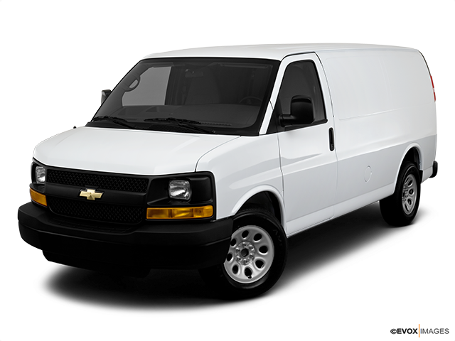 2010 Chevrolet Express Cargo Front angle view
