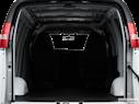 2010 Chevrolet Express Cargo Trunk open