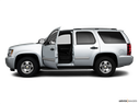 2010 Chevrolet Tahoe Driver's side profile with drivers side door open