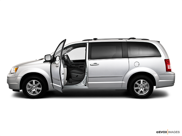 2010 Chrysler Town and Country Driver's side profile with drivers side door open