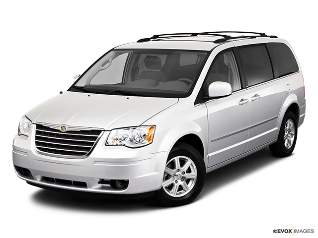 2010 Chrysler Town and Country Front angle view