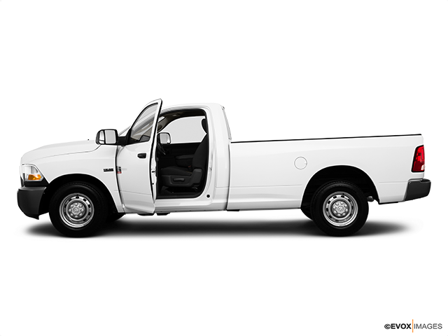 2010 Dodge Ram Pickup 2500 Driver's side profile with drivers side door open