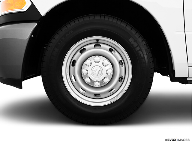 2010 Dodge Ram Pickup 2500 Front Drivers side wheel at profile