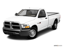 2010 Dodge Ram Pickup 2500 Front angle view