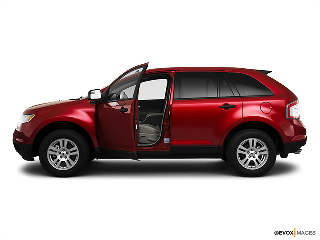 2010 Ford Edge Driver's side profile with drivers side door open