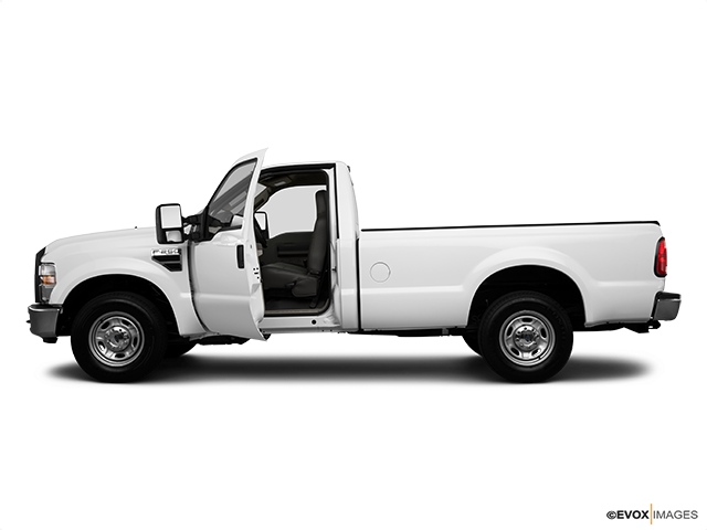 2010 Ford F-250 Super Duty Driver's side profile with drivers side door open