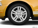 2010 Ford Mustang Front Drivers side wheel at profile