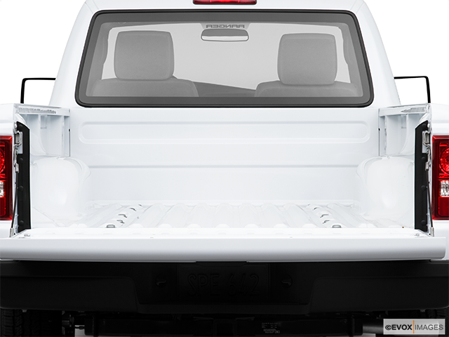 2010 Ford Ranger Trunk open