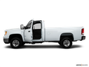 2010 GMC Sierra 2500HD Driver's side profile with drivers side door open