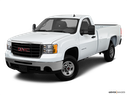2010 GMC Sierra 2500HD Front angle view