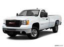 2010 GMC Sierra 2500HD Front angle medium view