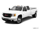 2010 GMC Sierra 3500HD Front angle view